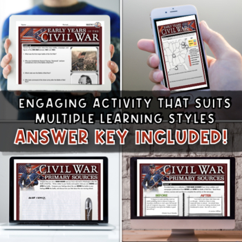 Overview: The Early Years of the Civil War (1861-1862) Activity