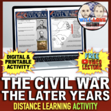 Overview: The Later Years of the Civil War (1864-1865) Activity