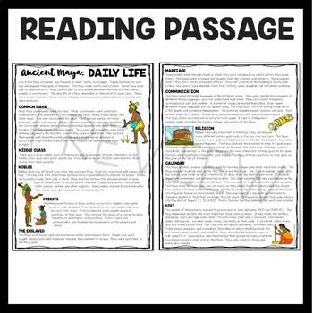 Maya Daily Life, Mesoamerica, Ancient Civilizations, Mayans