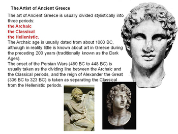 Overview of Ancient Greece