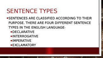 Overview of English I