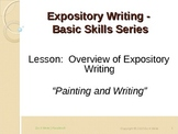 Overview of Expository Writing