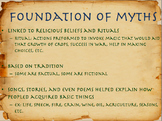 Overview of Greek Mythology