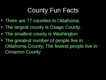 Overview of Oklahoma