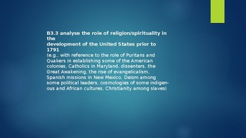 Overview of Religion and Dissent in Colonial America