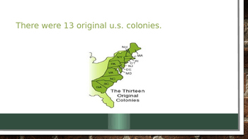 Overview of the 13 Colonies