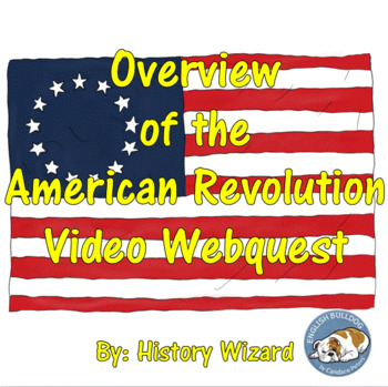 Overview of the American Revolution Video Webquest