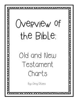 Overview of the Bible Charts