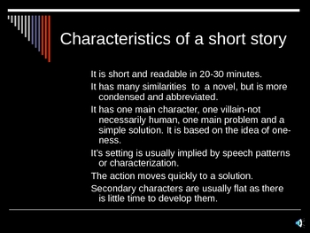 Overview of the Short Story