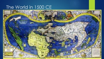 Overview of the World in 1500CE and Stirrings of the Scientific Revolution