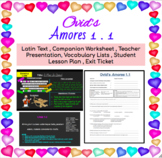 Ovid's Amores 1.1 Lessons + Materials BUNDLE!