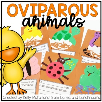Oviparous Animal Activities {Crafts & Writing}