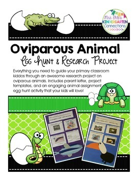 Oviparous Animal Egg Hunt & Research Project