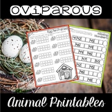 Oviparous Animal Printables