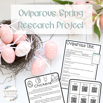 Oviparous Animal Spring Research Unit and Activities
