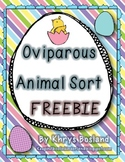Oviparous Animal Sort {FREEBIE}