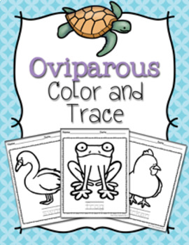 Oviparous Animals Color and Trace