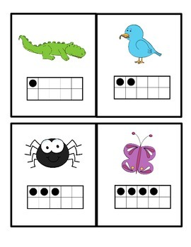 Oviparous Animals Count the Room Ten Frame
