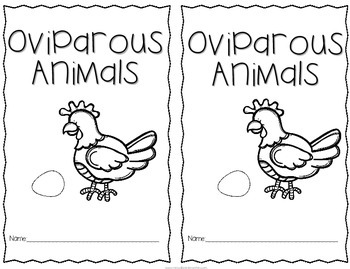 Oviparous Animals- FREE