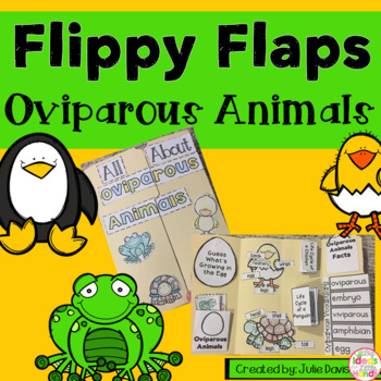 Oviparous Animals Activities Interactive Notebook Lapbook