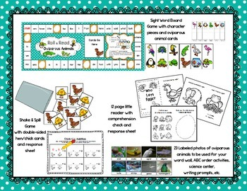 Oviparous Animals Math & Literacy Unit