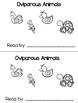 Oviparous Animals Reader