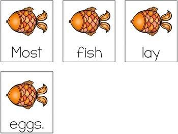 Oviparous Animals Scrambled Sentences