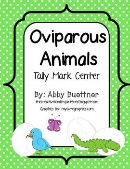 Oviparous Animals Tally Mark Center