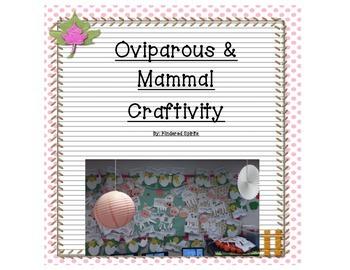 Oviparous and Mammal Farm Craftivity