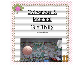 Oviparous and Mammal Farm Craftivity