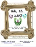 Ow, Ou, Owls!
