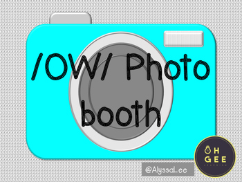 Ow Sound Photo Booth- Orton Gillingham