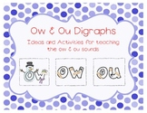 Ow and Ou Digraphs