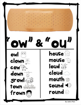 Ow and Ou Poster