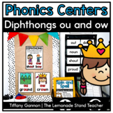 Ow and Ou Word Work Activities