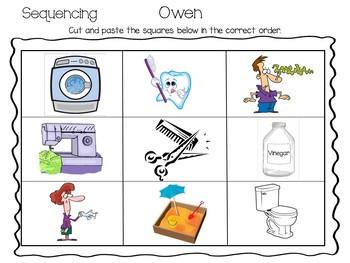 Owen  ~  55 pgs. Common Core Activities