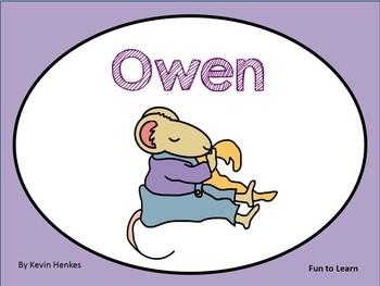 Owen  ~  29 pgs. Common Core Activities