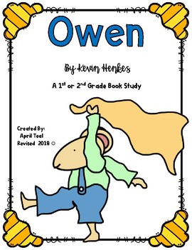 Owen By Kevin Henkes Book Study
