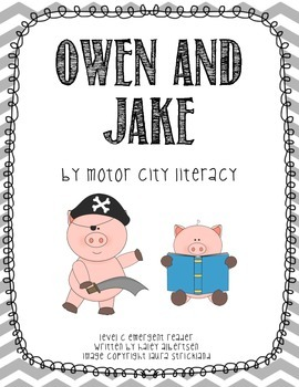 Owen & Jake: Guided Reading Level C Emergent Reader Mini Book and Class Book