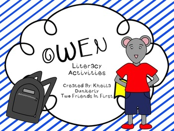 Owen Literacy Activities