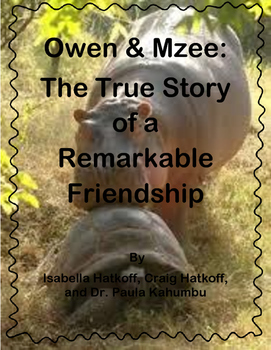 Owen & Mzee Journeys Grade 4 Lesson 24