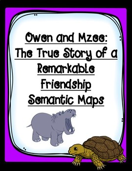 Owen and Mzee Differentiated Semantic Maps