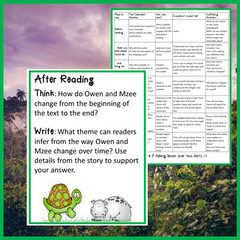 Owen and Mzee Interactive Read Aloud Lesson Plan and Extensions