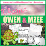 Owen & Mzee Interactive Theme Read Aloud Lesson Plan and Extensions