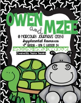 Owen and Mzee (Journeys 4th Gr. - Supplemental Materials)