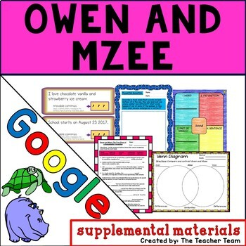 Owen and Mzee Journeys 4th Grade Unit 5 Lesson 24 Google Drive Resource