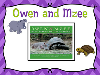 Owen and Mzee Narrative Writing Task