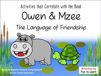 Owen and Mzee  The Language of Friendship
