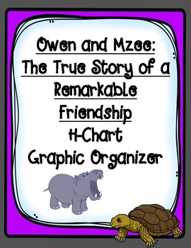 Owen and Mzee The True Story of a Remarkable Friendship H-Chart Organizer