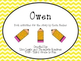 Owen~a One Week Reading Unit for the story by Kevin Henkes
